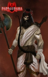 When Parashuram realized the evilness of Haihaya clan and vowed to avenge the entire Kshatriya Varna for the death of his father. He made the world bereft of Kshatriya youths and men 21 times. He would have continued this slaughter endlessly if the spirits, including that of his grandfather rishi Ruchika had not appeared before him and appealed to him to cease his campaign of vengeance.