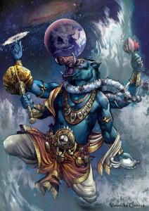 Varaha Avataar | Image: Vimanika Comics